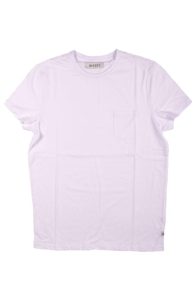 T-Shirt Bianco 40WEFT