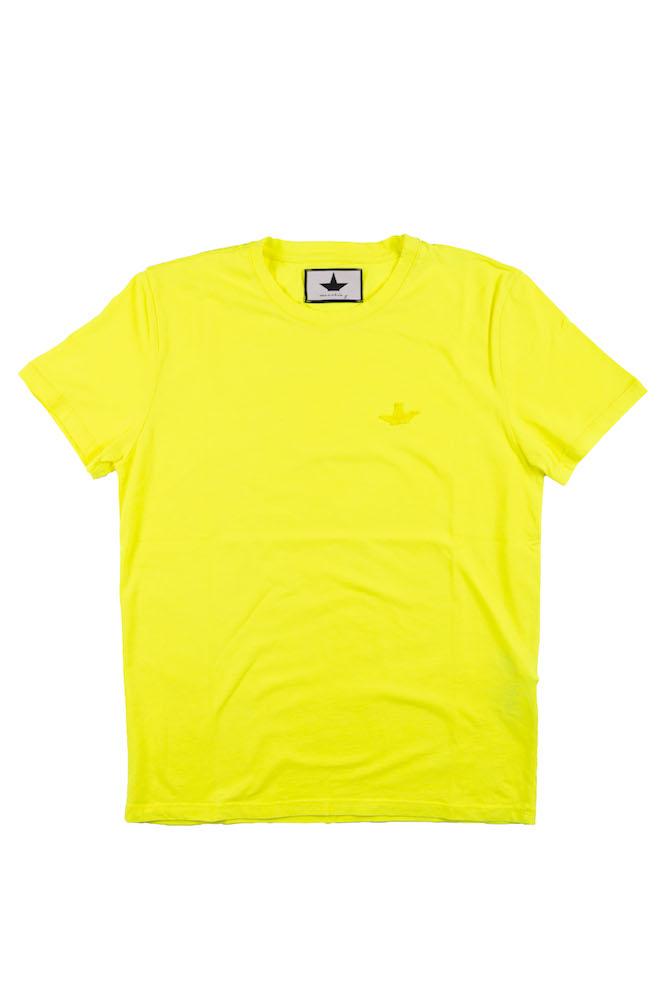 T-Shirt Giallo MACCHIA J