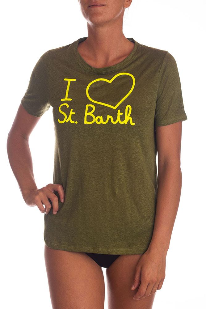 T-Shirt Verde MC2 SAINT BARTH