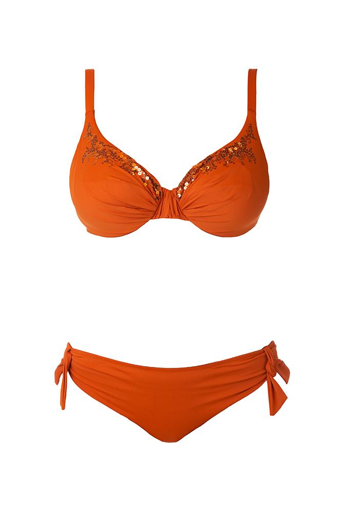 Bikini Arancione BERNE' MABELL
