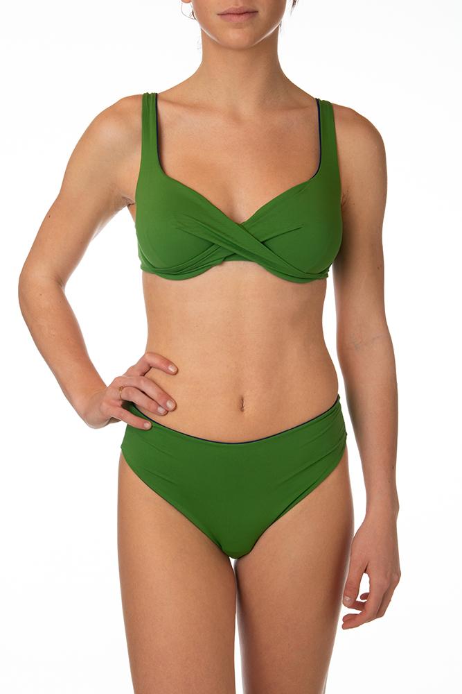 Bikini Verde LUISA MARIA LUGLI
