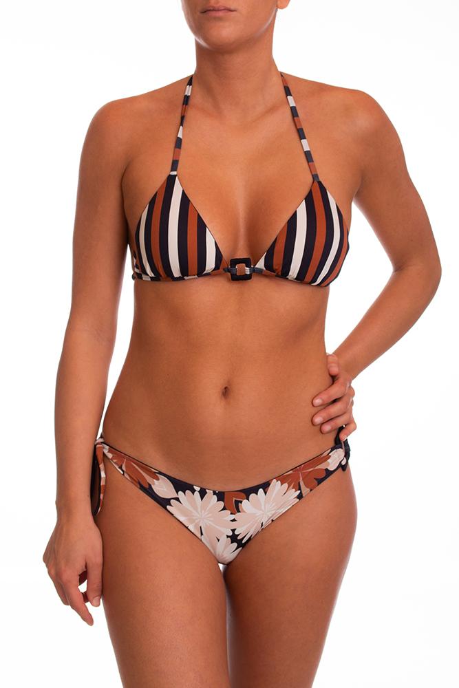 Bikini Marrone RAGGIANTI